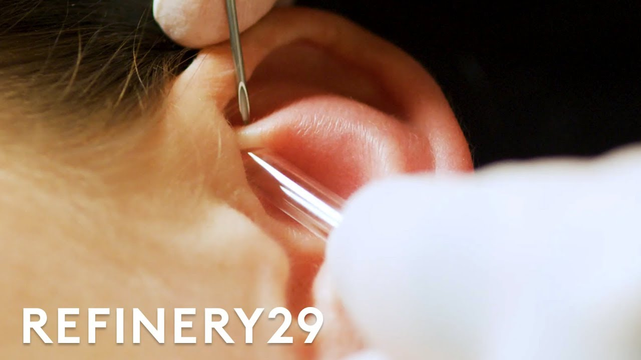 I Got A Custom Constellation Piercing From Brian Keith Thompson Macro Beauty Refinery29