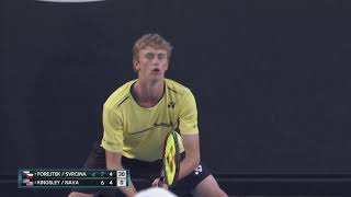 AO Highlights: Forejtek/Svrcina v Kingsley/Nava Final/Day 12 | Wide World of Sports