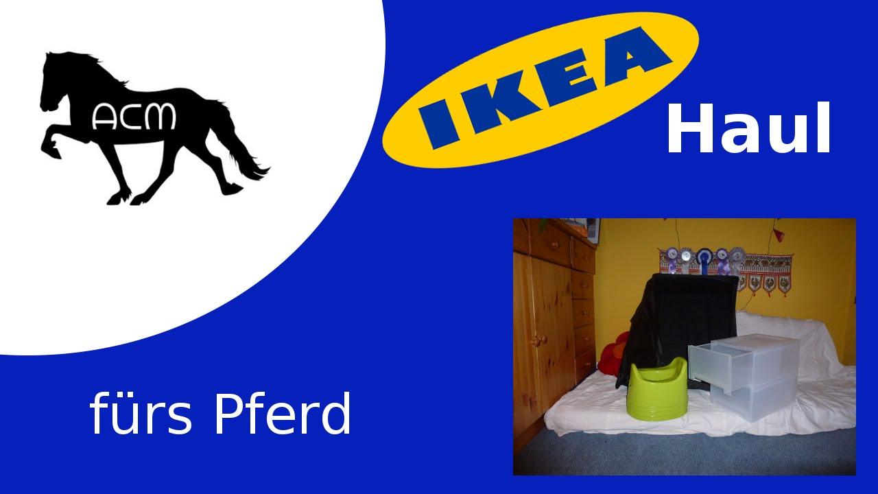 ikea haul fürs pferd [hauls] - youtube