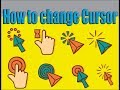 How To Change Mouse Cursor with your Picture and Create Cursor In Windows 7, 8, 10 etc