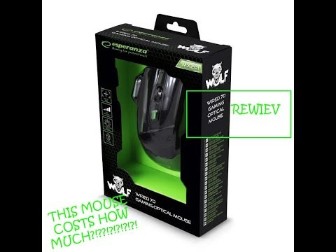 Esperanza 7d gaming optical mouse - WOLF review