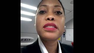 Endeavor Air Flight Attendant says farewell:)