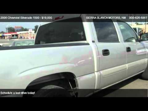 2006 Chevrolet Silverado 1500 Lt For Sale In Ruidoso Nm