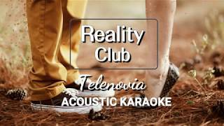 Reality Club - Telenovia (Karaoke, Lyric Video, Instrument Cover)