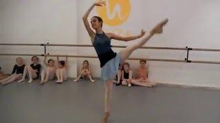"""Урок классического балета у детей.Студия балета""""Муза"""""""