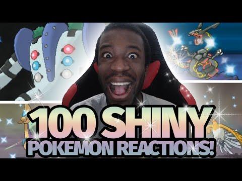 100 LIVE Shiny Pokemon Reactions! | Pokemon [HGSS/XY/ORAS] Shiny Montage!