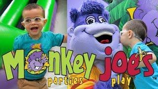 Monkey Joe's / Vlog / Inflatable Playground / Bounce House / Festa de Criança nos Estados Unidos thumbnail