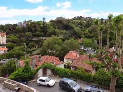 Streets of  Sintra Portugal3. ポルトガルのシントラ町並み。葡萄牙