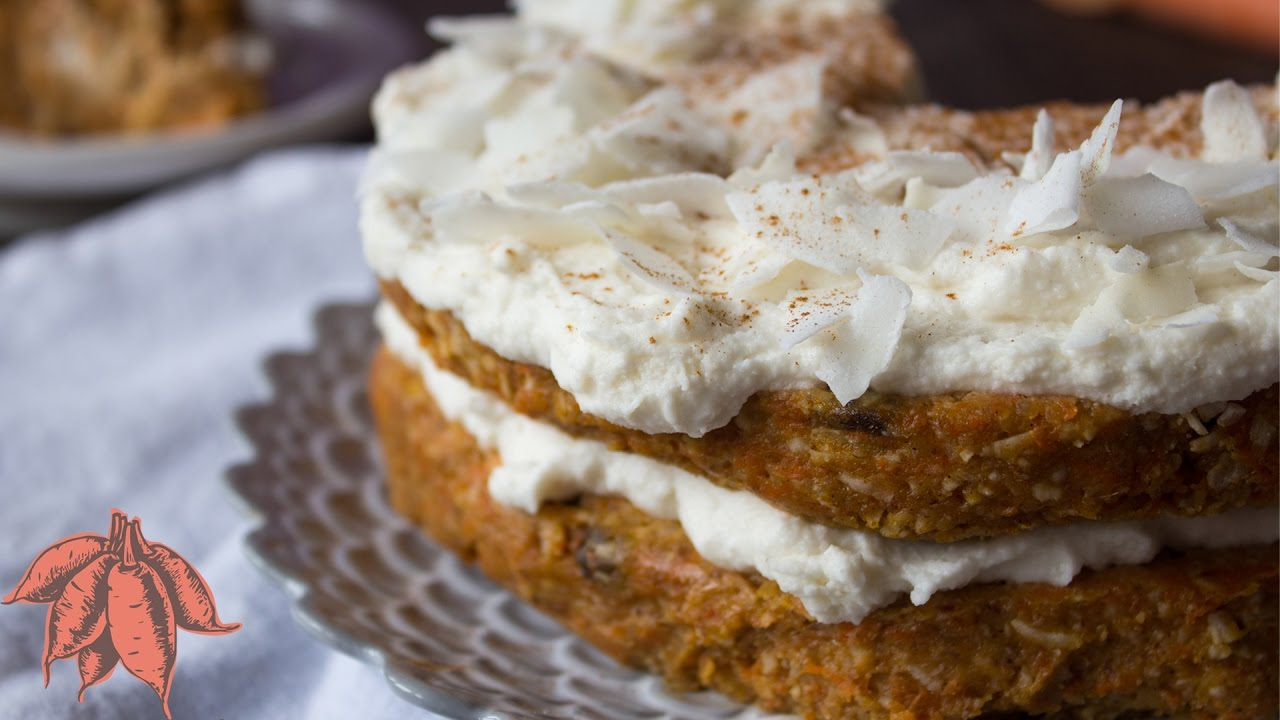 Raw Coconut Carrot Cake