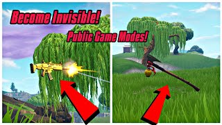 Become Invisible In Public Game Mode Glitch In Fortnite (New) Fortnite Glitches PS4/Xbox one/PC 2018