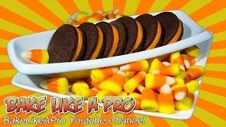 "Homemade Halloween ""oreo"" Style Cookies Recipe"