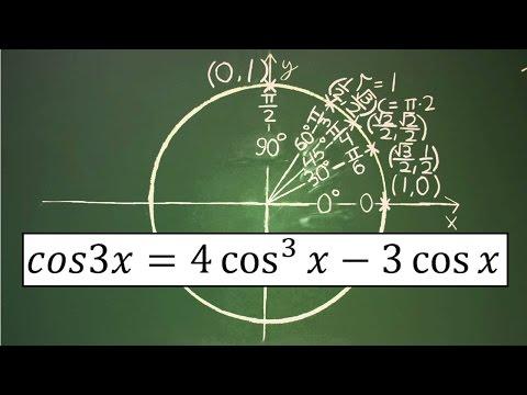 Trigonometry Identity: cos3x = 4cos^3(x) - 3cosx
