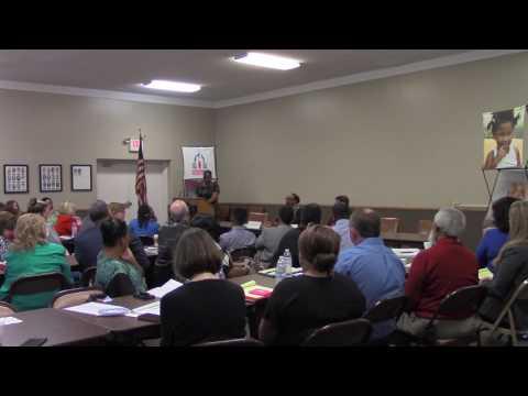 4572 Arkansas Representative Flowers talks about working with Arkansas Senator Jason Rapert