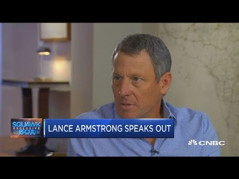 Lance Armstrong on doping and his venture capital fund