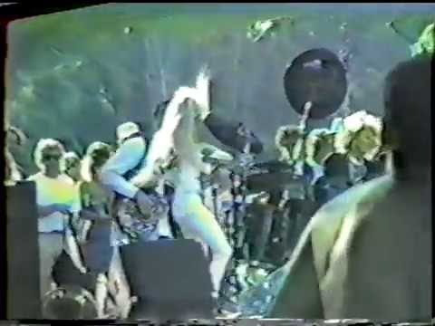 Missing Persons Live 1986 Color in Your Life Tour.  Bozzio Part 1