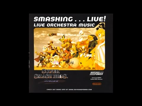 Super Smash Bros. Melee Smashing... Live! Live Orchestra Music Track 8: Opening