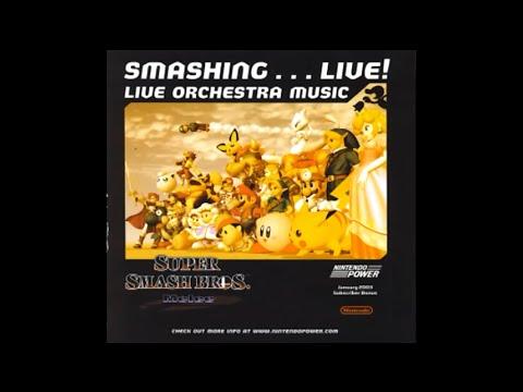 Super Smash Bros Melee Smashing !  Orchestra Music Track 8: Opening