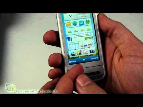 Nokia C6 unboxing video