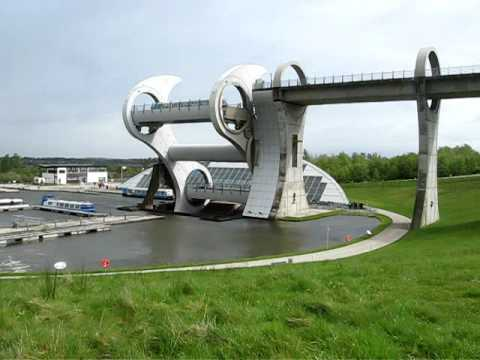 Falkirk wheel timelapse