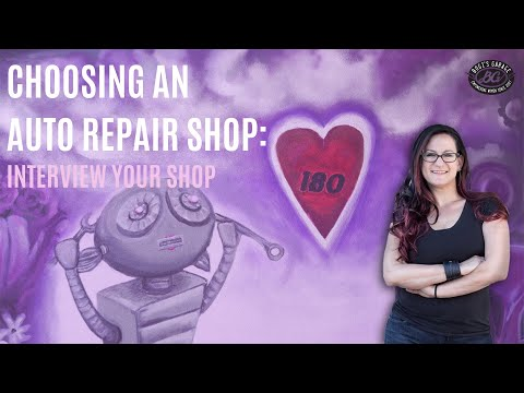 Choosing an auto repair shop: interview your shop