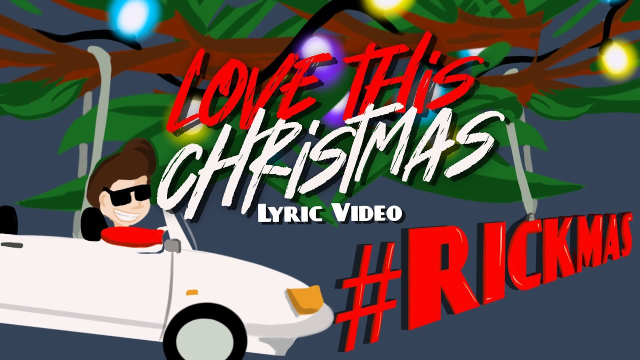 Rick Astley - Love This Christmas (Lyric Video)