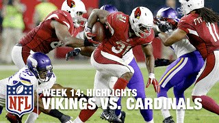 Vikings vs. Cardinals | Week 14 Highlights | NFL