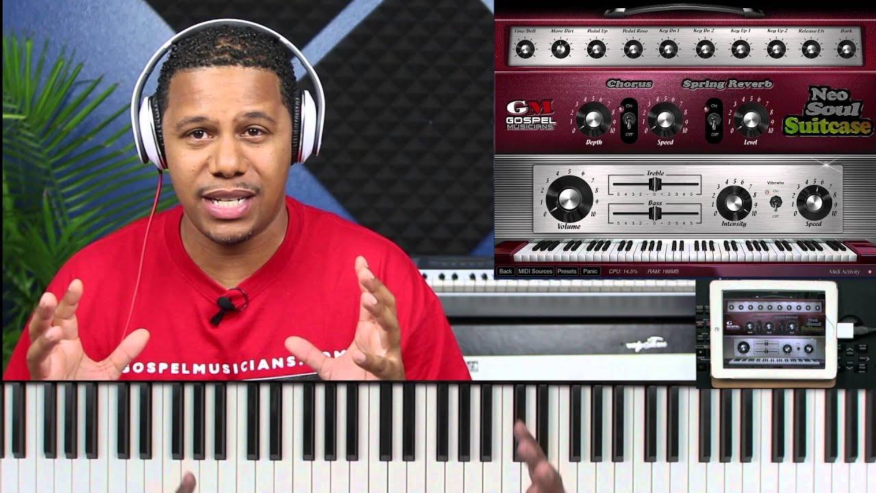 gospel musicians neo soul keys