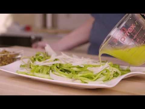 asparagus with citrus vinaigrette