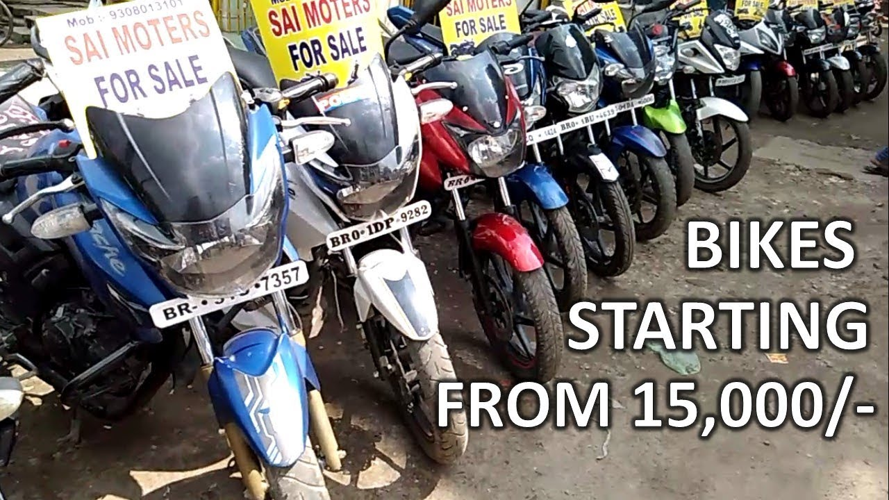 Second Hand Bike Market in Patna | Used Bike Market | Old bikes Bikes in  Cheap Price