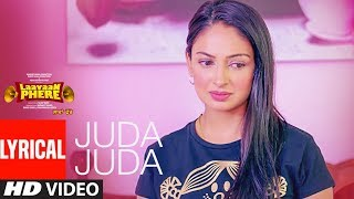Jassi Gill: Juda Juda (Lyrical Song) Laavaan Phere | Roshan Prince, Rubina Bajwa, Happy Raikoti