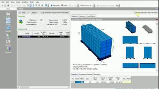 CubeMaster - Analyzing pallet configuration of multiple sizes