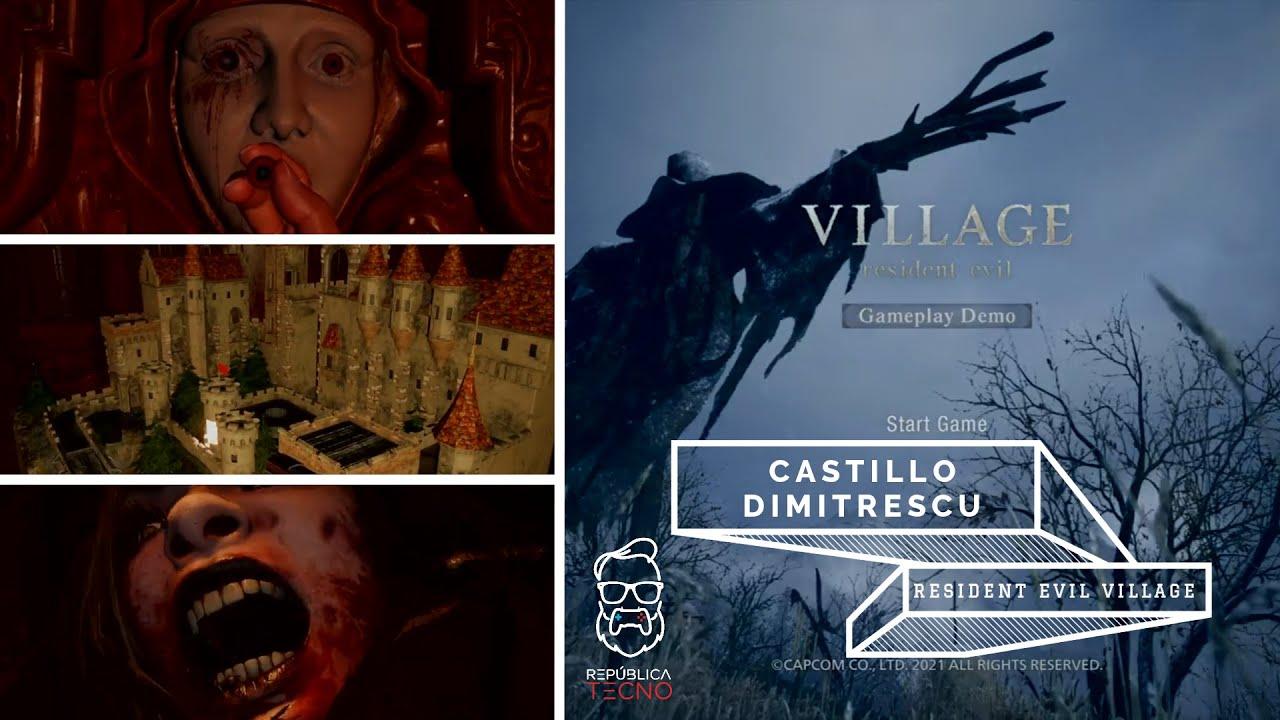 30 minutos dentro del Castillo Dimitrescu 😱 – Resident Evil Village Demo