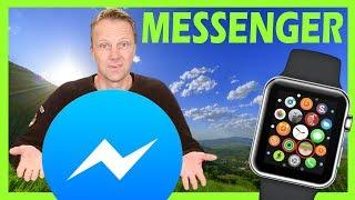 How to setup Messenger on Apple Watch screenshot 3