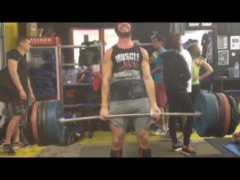 Deadlift 210kg - Block pull 250kg PR