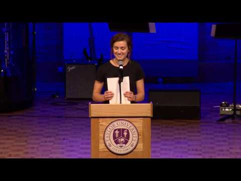 Taylor University Chapel - 03-27-17 - Sexuality and the Body