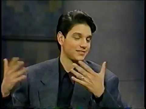 Ralph Machio @ The David Letterman Show 1990