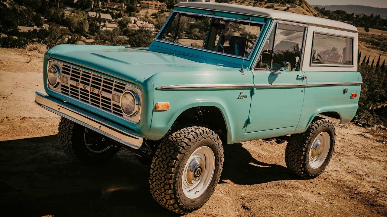 ICON Old School BR Restored & Modified Ford Bronco #57