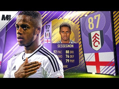 FIFA 18 POTY SESSEGNON REVIEW | 87 POTY SESSEGNON PLAYER REVIEW | FIFA 18 ULTIMATE TEAM thumbnail