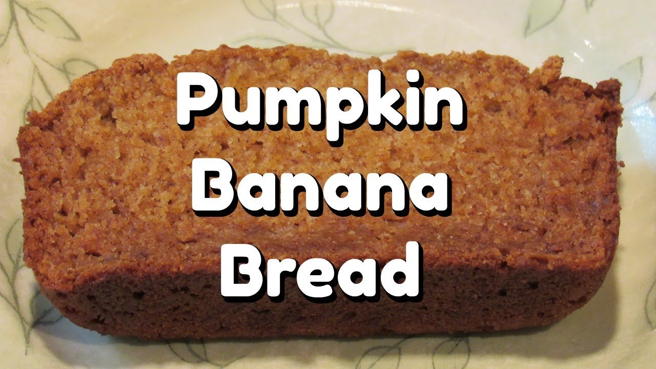 Pumpkin banana bread recipe youtube pumpkin banana bread recipe forumfinder Image collections