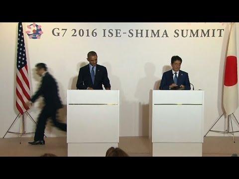 """Obama: Le G7 honorera """"toutes"""" les victimes de guerre"""