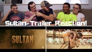 SULTAN | Official Trailer REACTION! | Salman Khan | Anushka Sharma | Ali Abbas Zafar