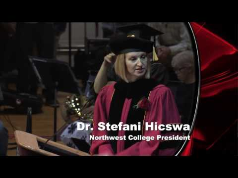 2016 Northwest College Commencement