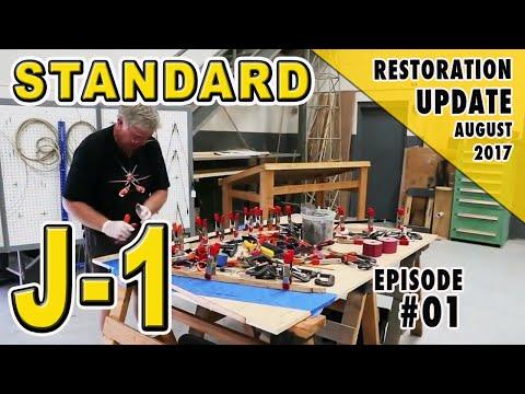FoF Mechanic's Corner - Wood Laminating - Waldo Pepper J-1 Restoration