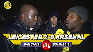 Leicester 2-0 Arsenal | Aubameyang & Lacazette Got No Service Emery Should've Started Pepe!