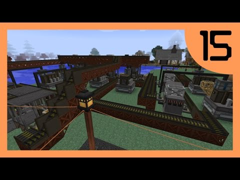 Thorgal's Modded Minecraft #15 - Giant Ore Processing Factory