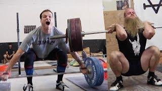 Alan Thrall & Zack Telander Move Barbells Quickly