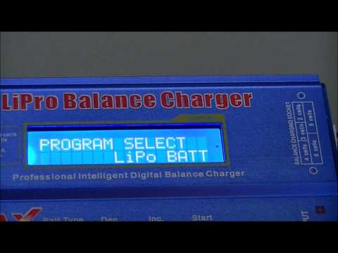 Solution■Charging Low voltage LiPo using iMAX B6 HD