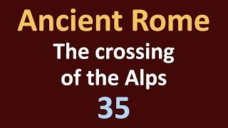 Second Punic War - The crossing of the Alps - 35