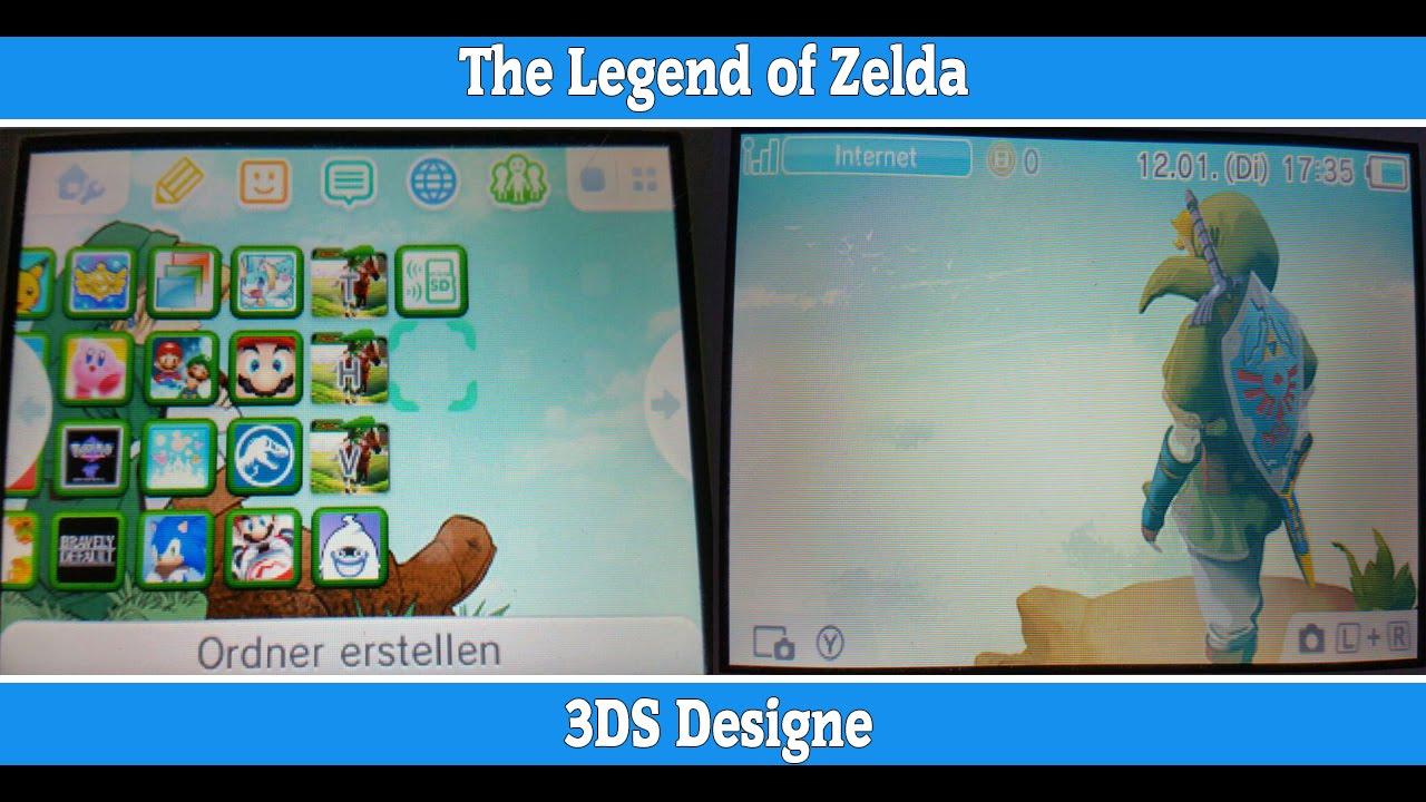 The Legend of Zelda | Nintendo 3DS Custom Theme [CIA and ...
