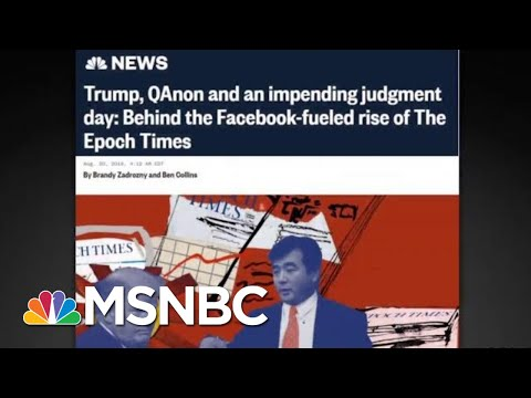 Little Known Epoch Times Is Largest Pro-Trump Spender On Facebook | All In | MSNBC